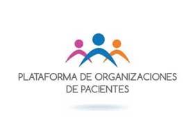 Logo la Plataforma de Organizaciones de Pacientes.