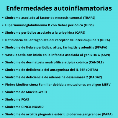 Enfermedades autoinflamatorias_Lire.es
